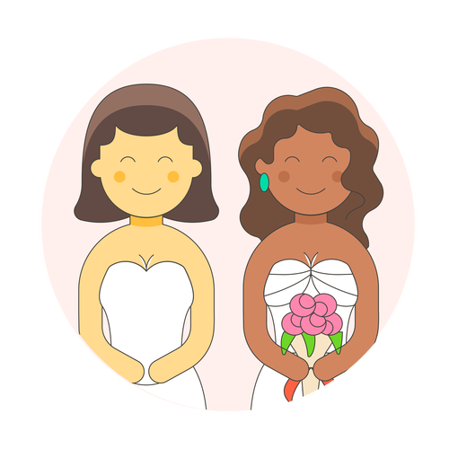 lesbian gowns 1 ,Logo , icon , SVG lesbian gowns 1