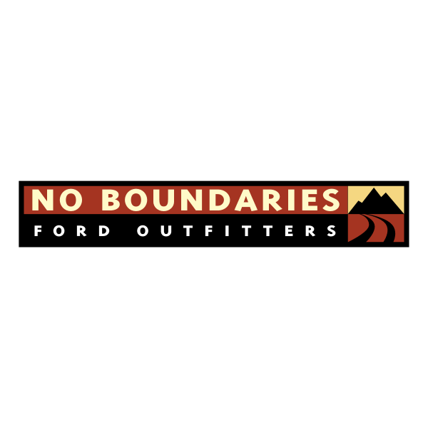 No Boundaries Ford Outfitters ,Logo , icon , SVG No Boundaries Ford Outfitters