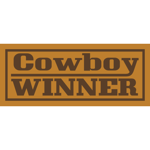 Cowboy Winner Logo ,Logo , icon , SVG Cowboy Winner Logo