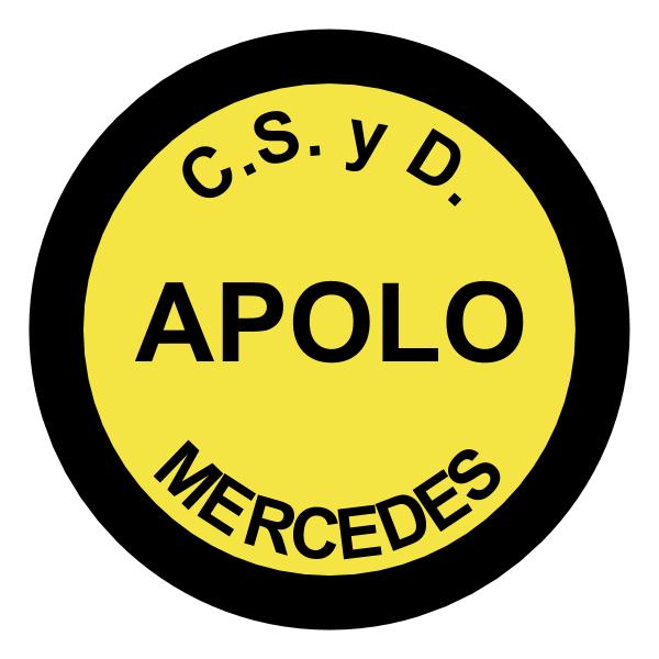 Club Social y Deportivo Apolo de Mercedes ,Logo , icon , SVG Club Social y Deportivo Apolo de Mercedes