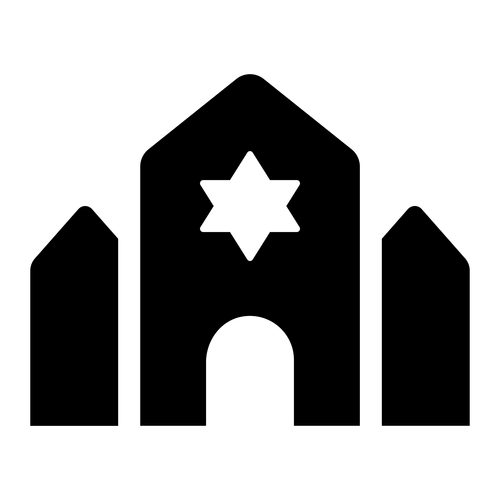 synagogue ,Logo , icon , SVG synagogue