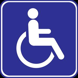 Cadeira de Rodas Logo ,Logo , icon , SVG Cadeira de Rodas Logo