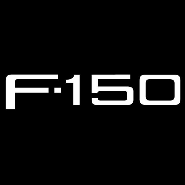 Ford F 150 ,Logo , icon , SVG Ford F 150