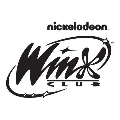 Nickelodeon Winx Club logo print ,Logo , icon , SVG Nickelodeon Winx Club logo print