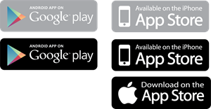 App Store and Google Play Logo ,Logo , icon , SVG App Store and Google Play Logo