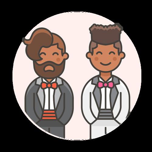 wedding gay 3 ,Logo , icon , SVG wedding gay 3