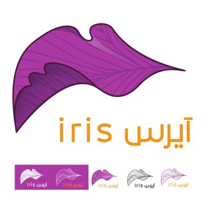 آيرس iris ,Logo , icon , SVG آيرس iris