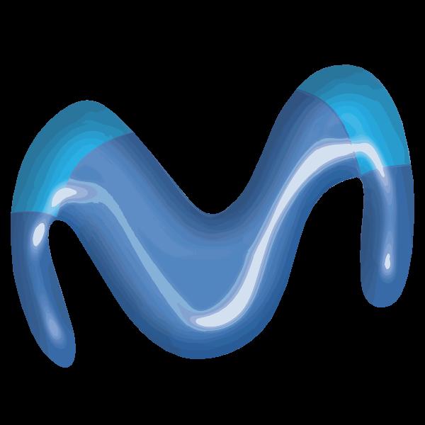 Movistar Azul Logo ,Logo , icon , SVG Movistar Azul Logo