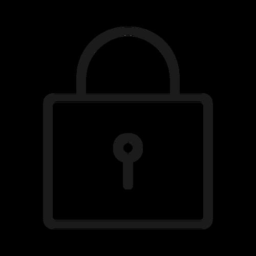 lock ,Logo , icon , SVG lock