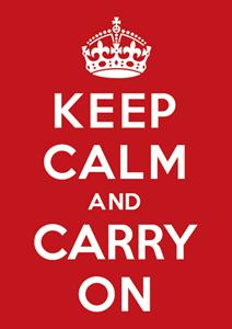 Keep Calm and Carry On Logo ,Logo , icon , SVG Keep Calm and Carry On Logo