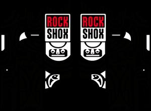Rock Shox Totem – MTB Fork decals Logo ,Logo , icon , SVG Rock Shox Totem – MTB Fork decals Logo