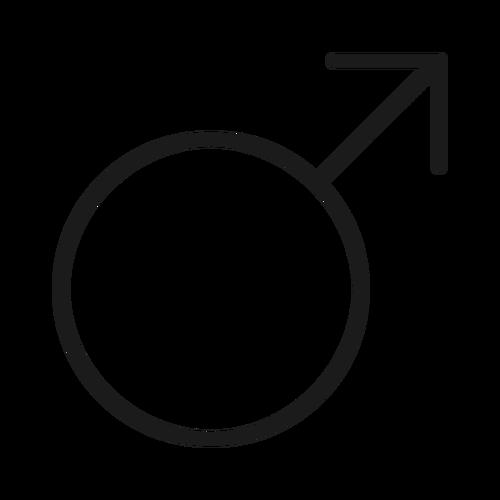 male ,Logo , icon , SVG male