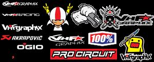 vhf graphix decals motocross Logo ,Logo , icon , SVG vhf graphix decals motocross Logo