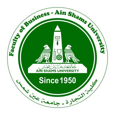 جامعة عين شمس ـ كلية التجارة , مصر ,Logo , icon , SVG جامعة عين شمس ـ كلية التجارة , مصر