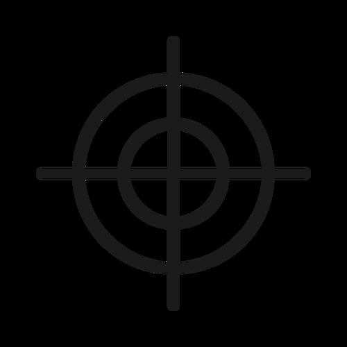 target ,Logo , icon , SVG target