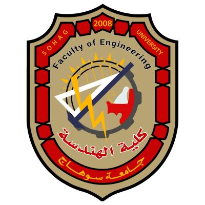 جامعة سوهاج   كلية الهندسة , مصر ,Logo , icon , SVG جامعة سوهاج   كلية الهندسة , مصر