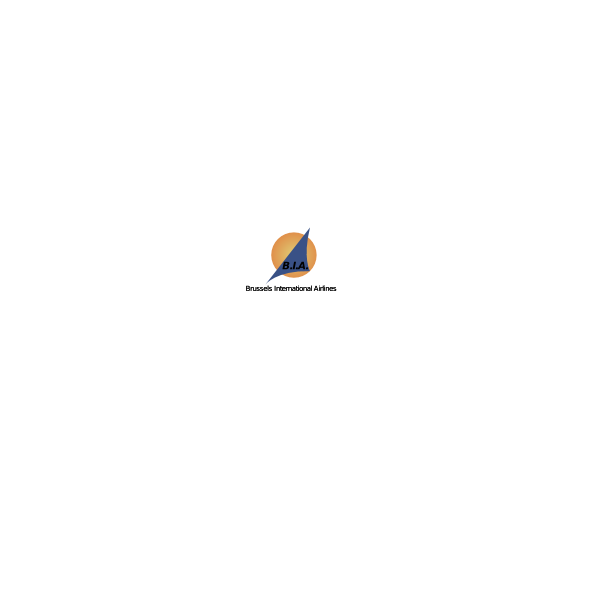 Brussels Interantional Airlines Logo ,Logo , icon , SVG Brussels Interantional Airlines Logo