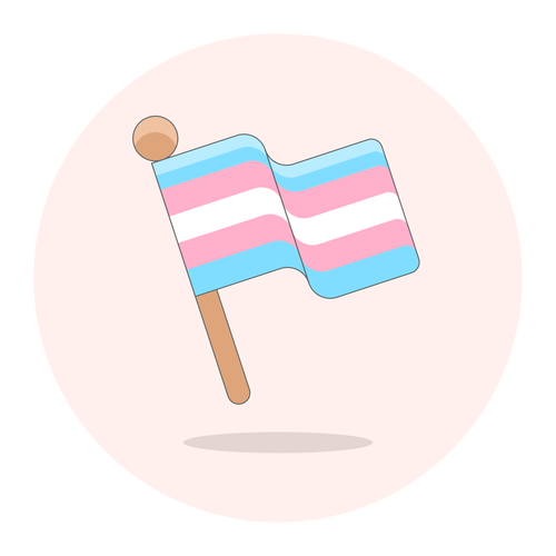stick flag transgender ,Logo , icon , SVG stick flag transgender