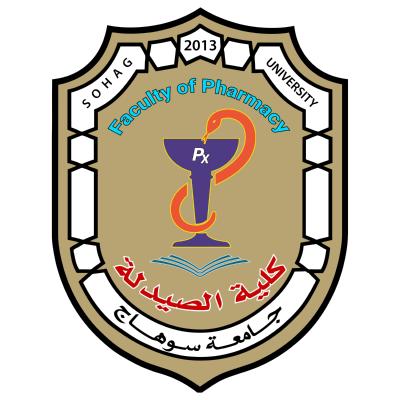 جامعة سوهاج   كلية الصيدلة , مصر ,Logo , icon , SVG جامعة سوهاج   كلية الصيدلة , مصر