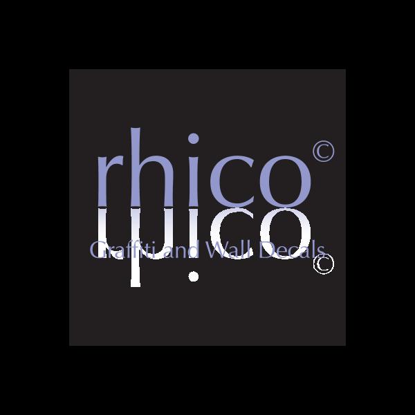 Rhico Grafitti and Wall Decals Logo ,Logo , icon , SVG Rhico Grafitti and Wall Decals Logo