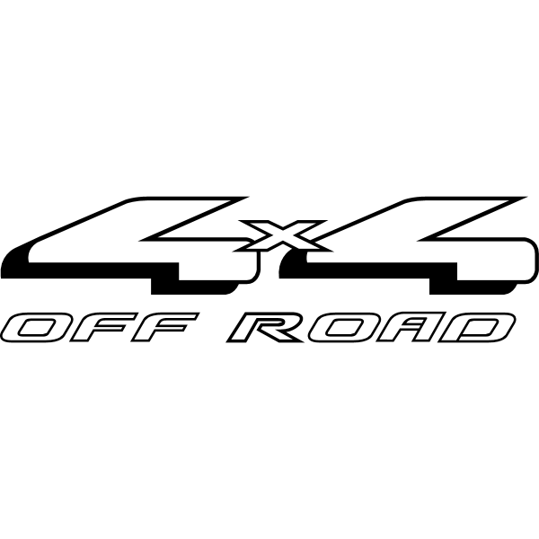 Ford 4×4 Off Road ,Logo , icon , SVG Ford 4×4 Off Road