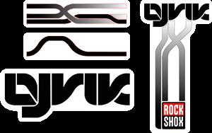 Rock Shox Lyrik – MTB Fork Decals Logo ,Logo , icon , SVG Rock Shox Lyrik – MTB Fork Decals Logo