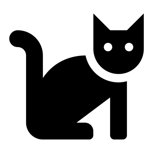 cat ,Logo , icon , SVG cat