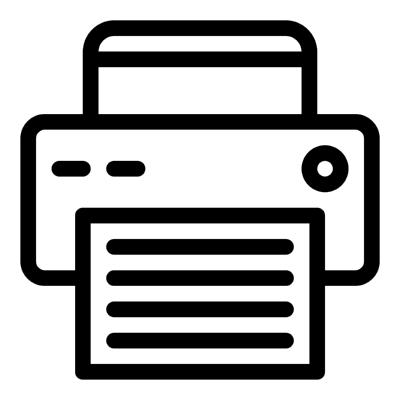 printer ,Logo , icon , SVG printer