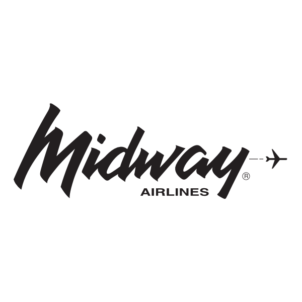 Midway Airlines Logo ,Logo , icon , SVG Midway Airlines Logo