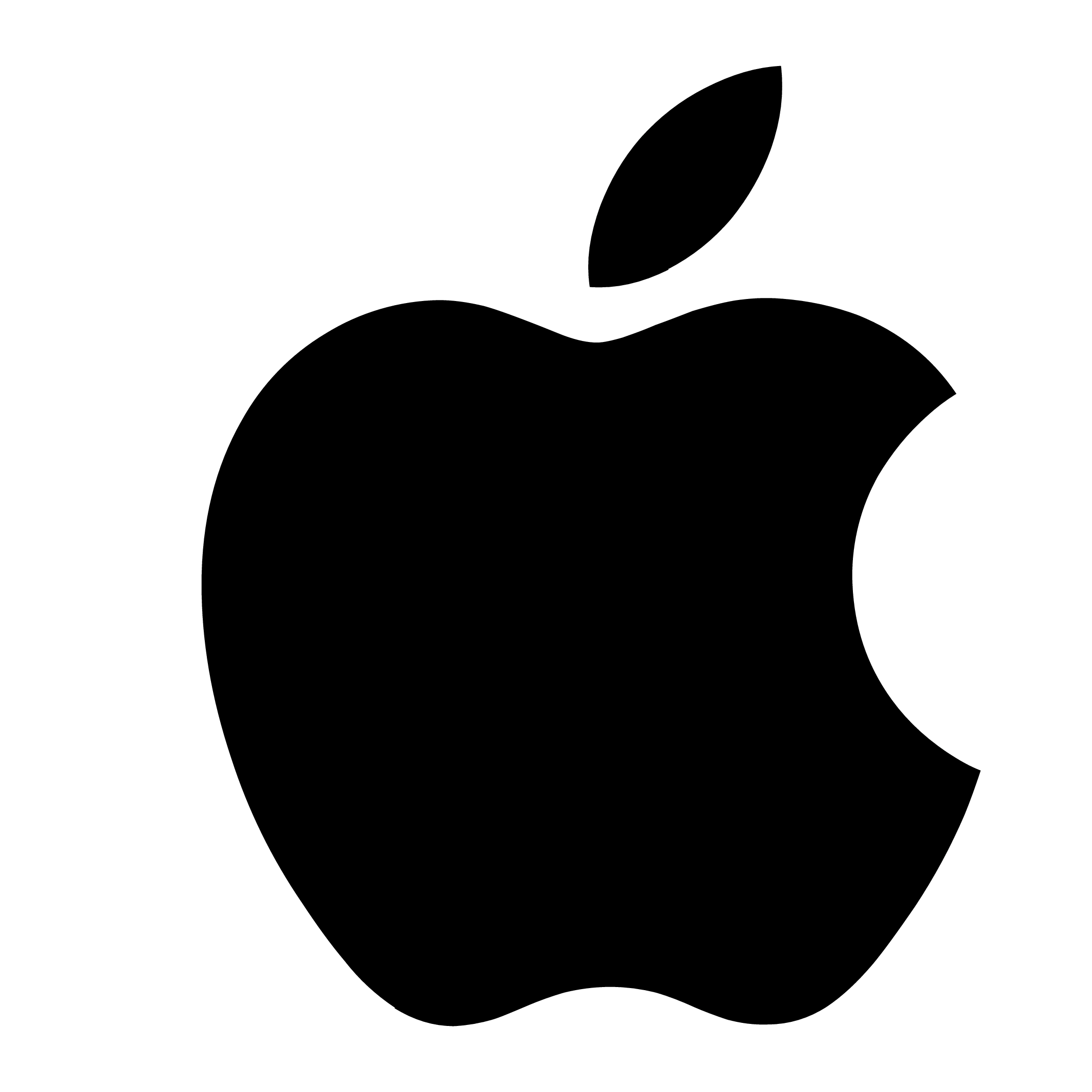 apple logo png transparent