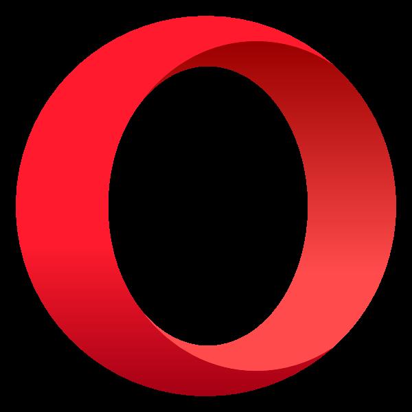 opera ,Logo , icon , SVG opera
