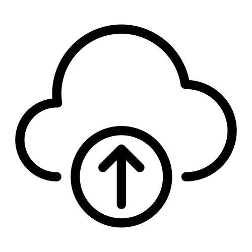 Cloud upload ,Logo , icon , SVG Cloud upload