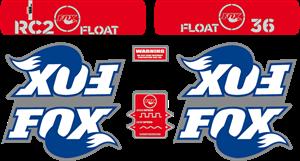 Fox 36 RC2 Float 2007 – MTB Fork Decals Logo ,Logo , icon , SVG Fox 36 RC2 Float 2007 – MTB Fork Decals Logo