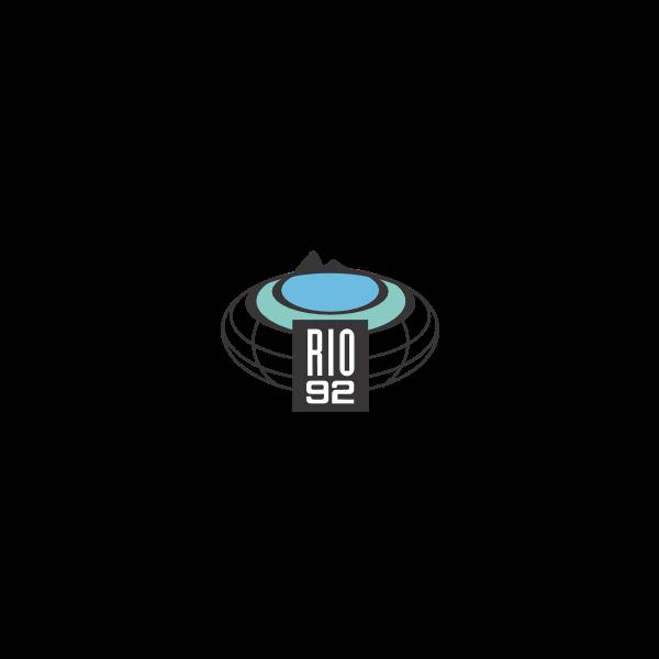 RIO ECO 92 Logo ,Logo , icon , SVG RIO ECO 92 Logo