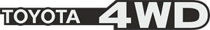 Toyota 4WD Logo ,Logo , icon , SVG Toyota 4WD Logo