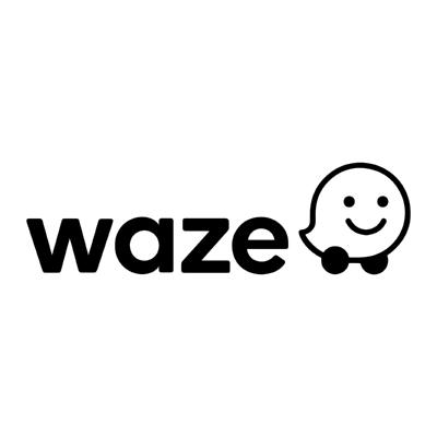 waze ,Logo , icon , SVG waze