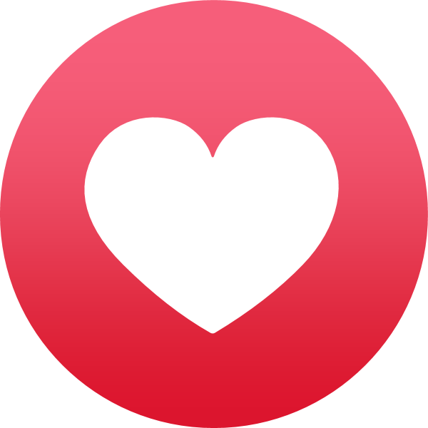 Facebook Reaction: Love ,Logo , icon , SVG Facebook Reaction: Love
