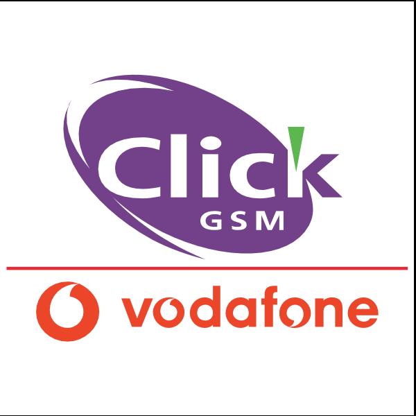 Click GSM Vodafone Logo ,Logo , icon , SVG Click GSM Vodafone Logo