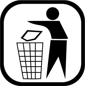 Deposite en la Basura Logo ,Logo , icon , SVG Deposite en la Basura Logo