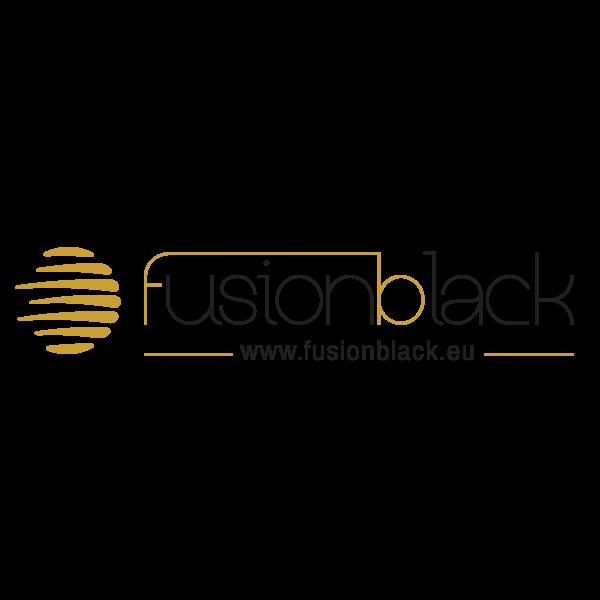 Fusion Black Logo ,Logo , icon , SVG Fusion Black Logo