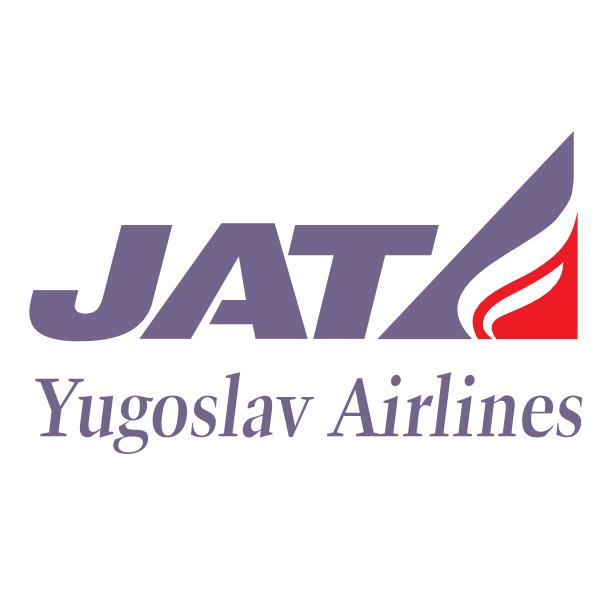 JAT Yugoslav Airlines Logo ,Logo , icon , SVG JAT Yugoslav Airlines Logo