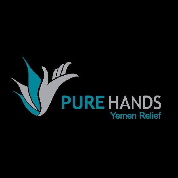 شعار منظمة الأيادي النقية ,Logo , icon , SVG شعار منظمة الأيادي النقية