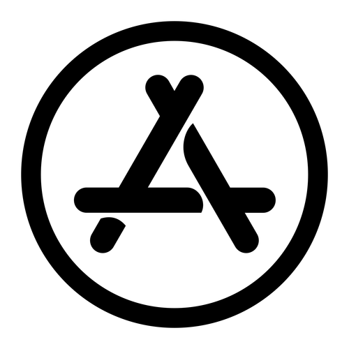 app store ,Logo , icon , SVG app store