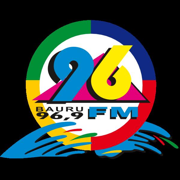 Bauru 96 Fm Logo Download Logo Icon Png Svg