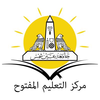 جامعة عين شمس مركز التعليم المفتوح , مصر ,Logo , icon , SVG جامعة عين شمس مركز التعليم المفتوح , مصر