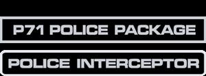 Police Interceptor Decals Logo ,Logo , icon , SVG Police Interceptor Decals Logo