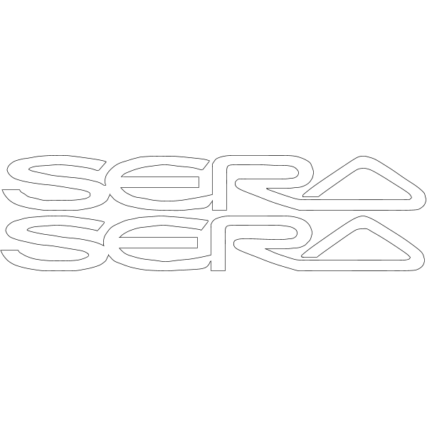 TOYOTA SERA Logo ,Logo , icon , SVG TOYOTA SERA Logo