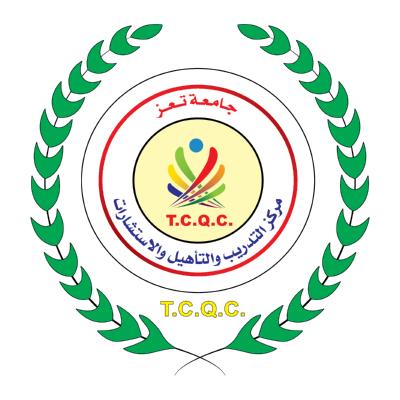 جامعة تعز مركز التدريب والتأهيل والاستشارات ,Logo , icon , SVG جامعة تعز مركز التدريب والتأهيل والاستشارات