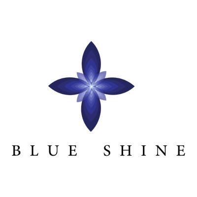 blue shine ,Logo , icon , SVG blue shine