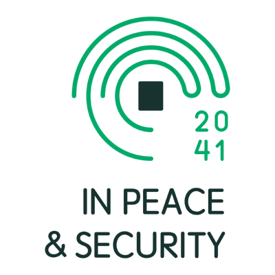 in peace & security ,Logo , icon , SVG in peace & security